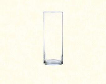 """9"""" Glass Cylinder Vase"""
