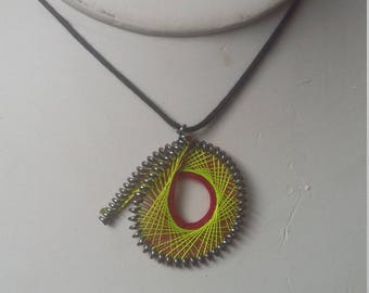 string-art jewelry