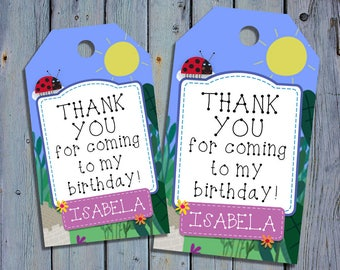 Ben and Holly's Little Kingdom Birthday Thank You Tags, Ben and Holly Favor Tag, Printable Digital Labels, Goody Bag Tags, Hang Label Tags