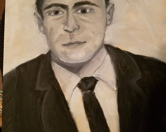 Rod Serling painting