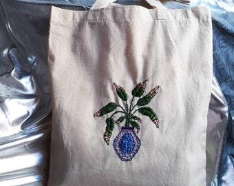 Plant in vase- Bag