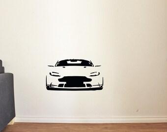 Cool Car Sport Race Man Cave Garage Home Kids Room Wall Decals Vinyl Decor Stickers MK1571