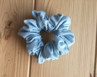 Light Blue Scrunchie