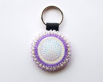 Native American Beaded Keyring