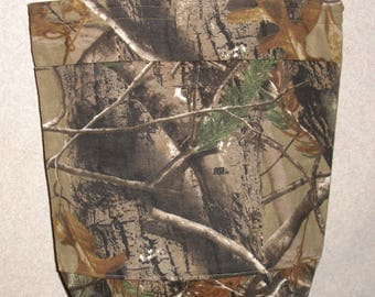 New Medium Tote Bag Handmade with RealTree AP Camo Fabric
