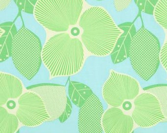 Amy Butler Midwest Modern Collection Optic Blossom Ice Fabric By The Yard
