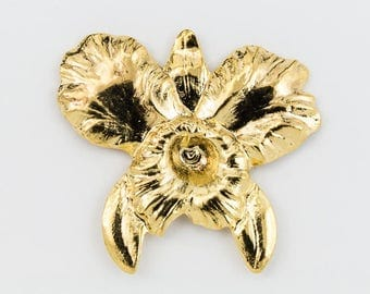 32mm Gold Orchid #1859A