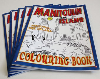Colouring Book/Manitoulin Island by Whytes (Coloring Books, Coloring Pages, Adult Coloring Books, Adult Coloring Pages, Relaxation Gifts)