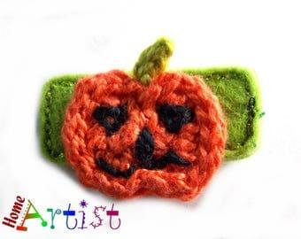 Hair clip Pumpkin