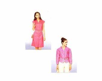 SALE Misses Dress and Jacket Burda 7071 Sewing Pattern Size 6-8-10-12-14-16-18 UNcut