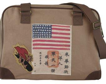WWII Pilot's Bag - Corsair Pilot's Bag by Trixie & Milo