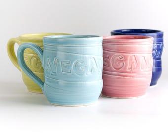 Vegan Dish - Mug - Wonky