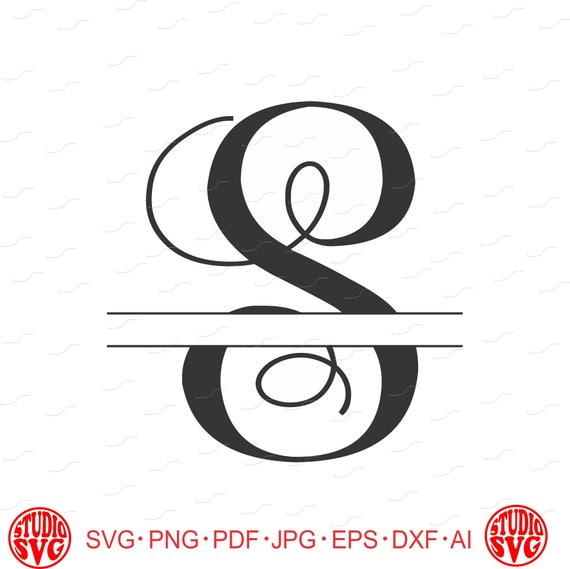 One Letter Monogram First Or Last Name