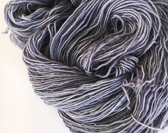 LAVENDER Sublime Single Ply Fingerweight Yarn