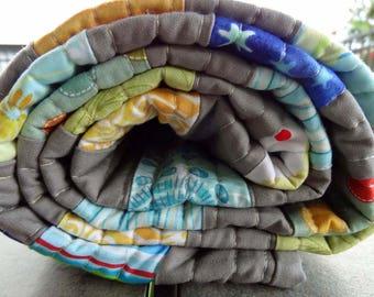 Modern Handmade Baby/Crib/Toddler Quilt - Quiltsy Handmade