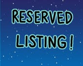 RESERVED LISTING FOR Mary Ellen Mitchell