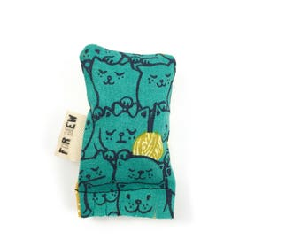 Cats And Yarn Green Bean Organic Eco Friendly Catnip Cat Toy For Mew