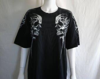 Tattoo skeleton tribal tattoo t shirt