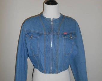 Closing Shop 40%off SALE Womens Vintage Jean Jacket vintage denim jacket
