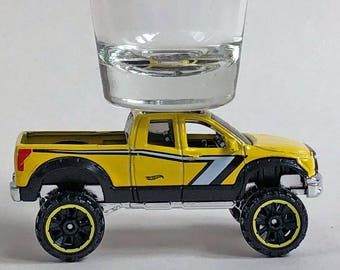 the Original Hot Shot shot glass, Toyota Tundra, Pick Up, Hot Wheel car