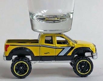 the Original Hot Shot shot glass, Toyota Tundra, Pick Up, Hot Wheel car