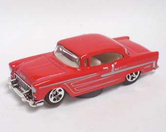 Hot Rod Magnet - 1955 Chevrolet Chevy Bel Air : Tool Box, Refrigerator, Man Cave, Stocking Stuffer, Magnet
