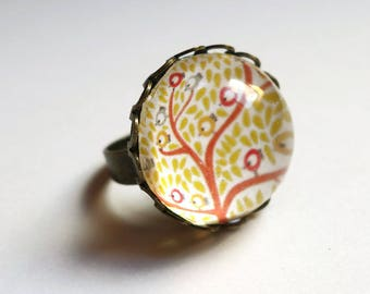 Ring, tree birds BA008B
