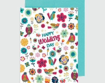 Wedding Card - Happy Wedding Day