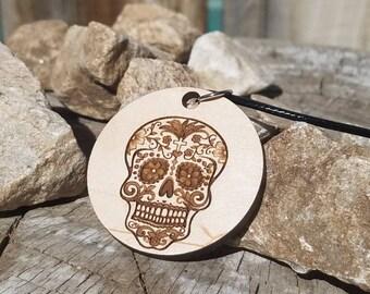 Sugar Skull pendant Necklace