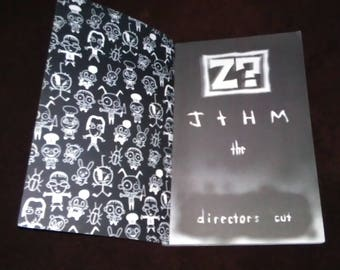 Free Shipping Z? Johnny The Homicidal Maniac by Dan  the Director's Cut Graphic Novel Comic Book Black & White Illustrations