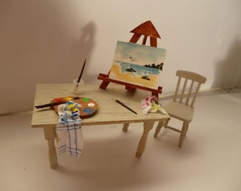 Artists'One 24th scale Studio table