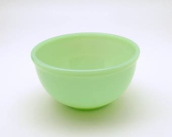 Vintage Jadeite Fire King Chili Bowl Restaurant Ware