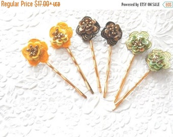 CLEARANCE - 2  beaded hairpins, sequinned hair-pins, bobby-pins, available in 3 colors, hair accessory, womens accessory