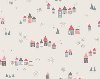 SALE Little Town Snowdrift Joy by Amy Sinibaldi for AGF