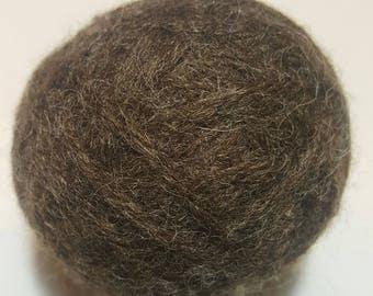 100% Wool Dryer Balls - Cocoa