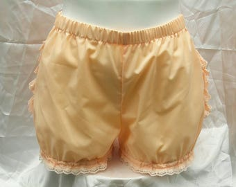 Peach Micro mini bloomers adult women lolita
