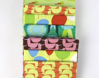Rare, OOP Lizzy House Red Letter Day ducks, yard, 1/2 yard and fat quarters