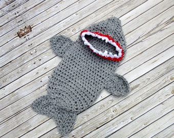 Baby Shark Costume, Halloween Baby Costume, Newborn Halloween Costume, Newborn Costume, Infant Costume, Baby Photo Prop