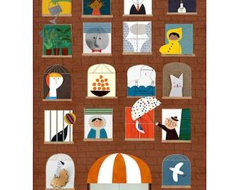 Magic Hotel print