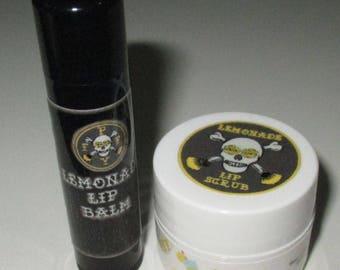 Lemonade Lip Balm/Scrub Duo