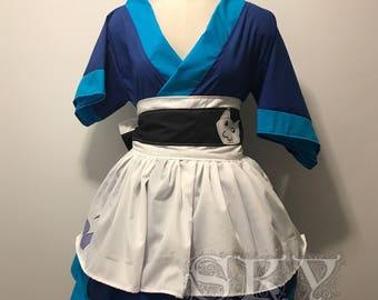 Akali X Sashimi Kimono Dress