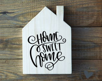 Home Sweet Home SVG File for Home Decor or Housewarming Gift