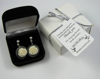 Luxury Velvet Jewelry Gift Box For Earrings UPGRADE ONLY - Add-on gift box for your jewelry purchase from Zeba Collection