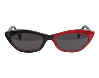 Authentic ALAIN MIKLI Paris Vintage Cat-Eye Sunglasses for 101 Dalmatians 1996