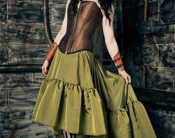 Custom teal skirt