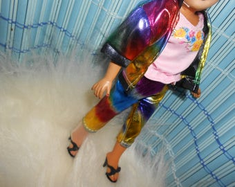 Rainbow Doll Clothes fit Little Miss Revlon-10-10-1/2 Fashion Dolls and Barbie too