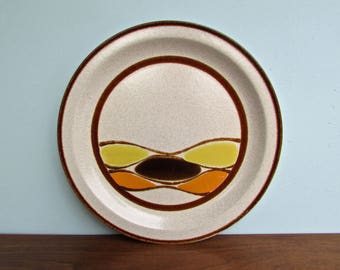 "Kaleido Zuma Stoneware 12"" Serving Platter, Vintage Japan Stoneware Form, Mid Century Modern International  Japan"