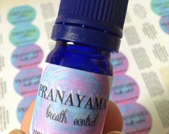 Pranayama Oil -  Breath Oil - 100% Pure Essential Oil Blend - Aromatherapy - Essential Oil - Essential Oils