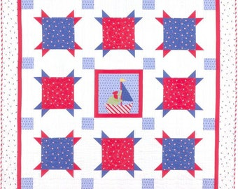 Clearance PATTERN SAIL AWAY Patriotic Summer Quilt