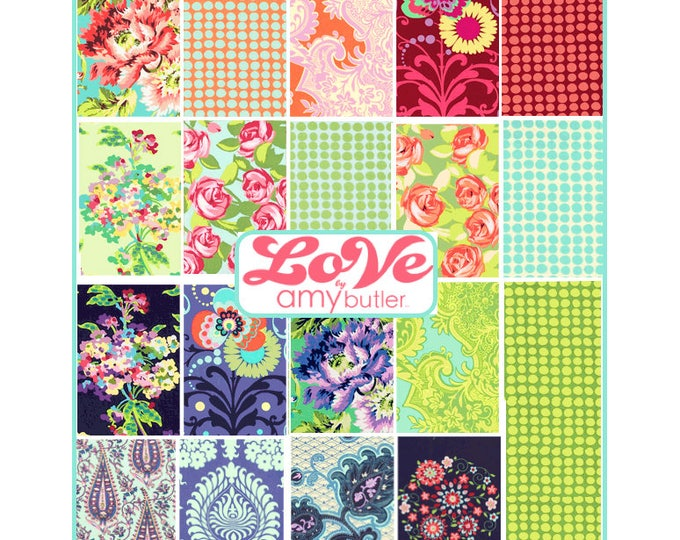 LOVE by Amy Butler - Fat quarter set of  19 pieces